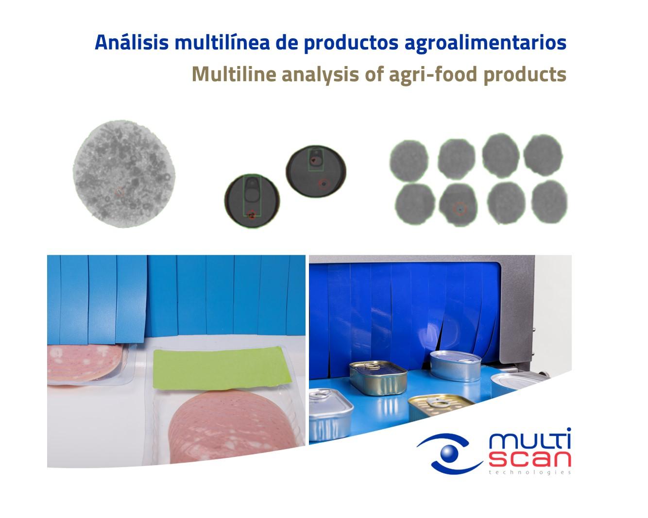 Análisis multilínea de productos agroalimentarios