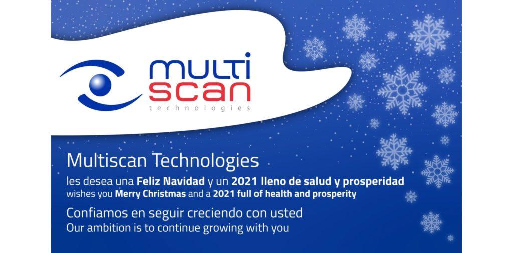 Multiscan Technologies les desea una feliz Navidad