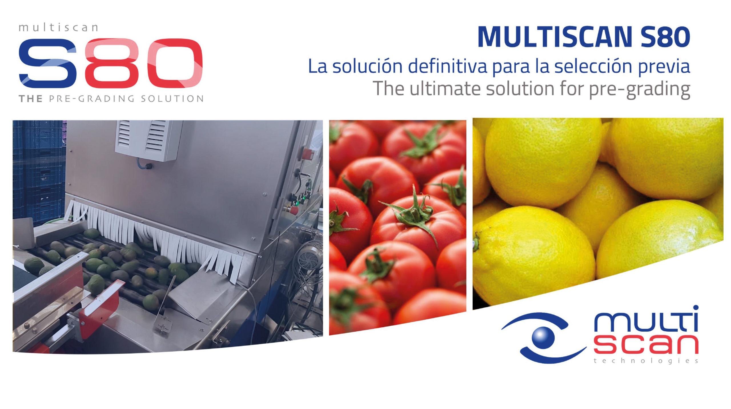 Multiscan S80, la solución definitiva para la selección previa