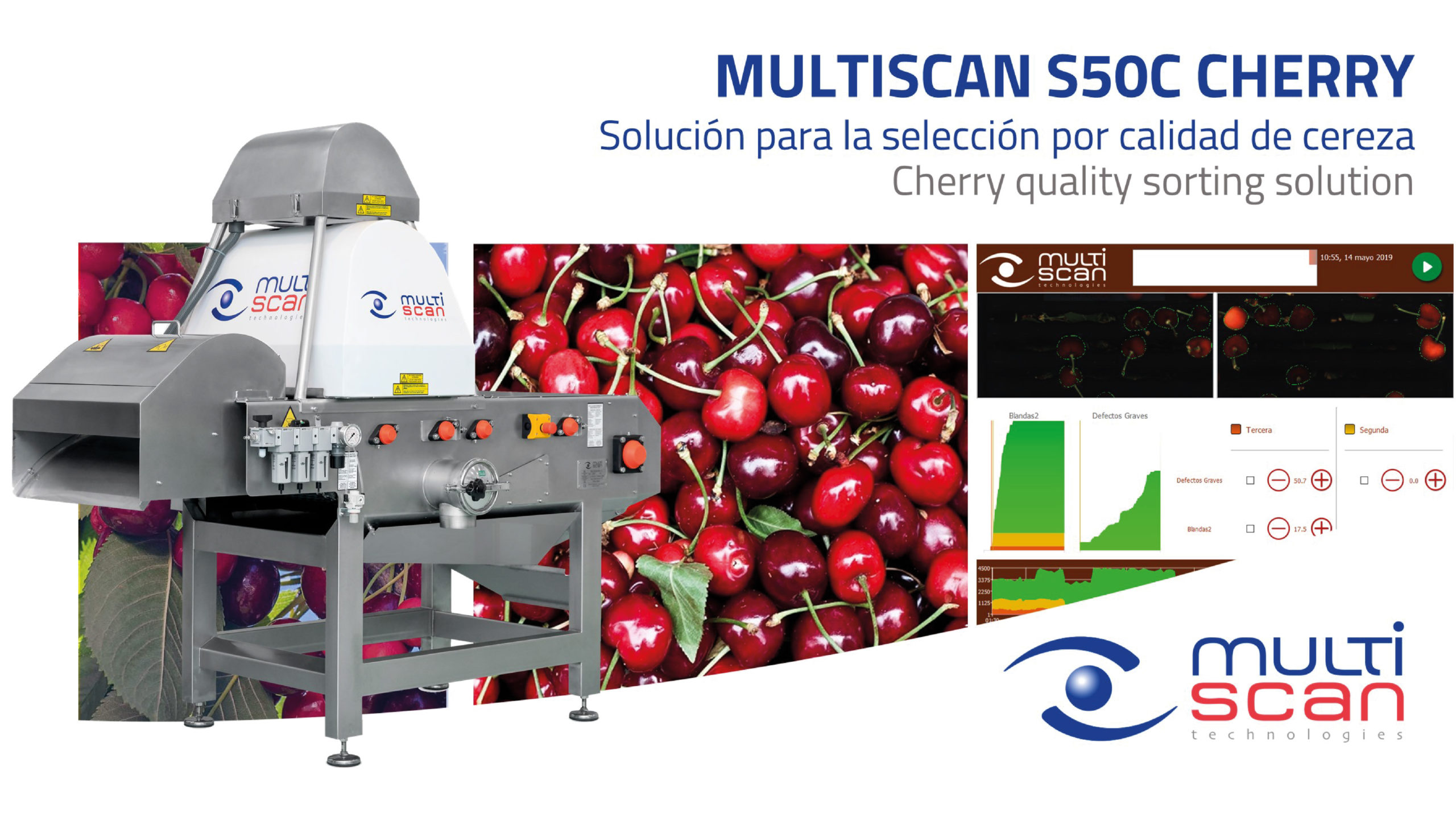 Multiscan S50C Cherry