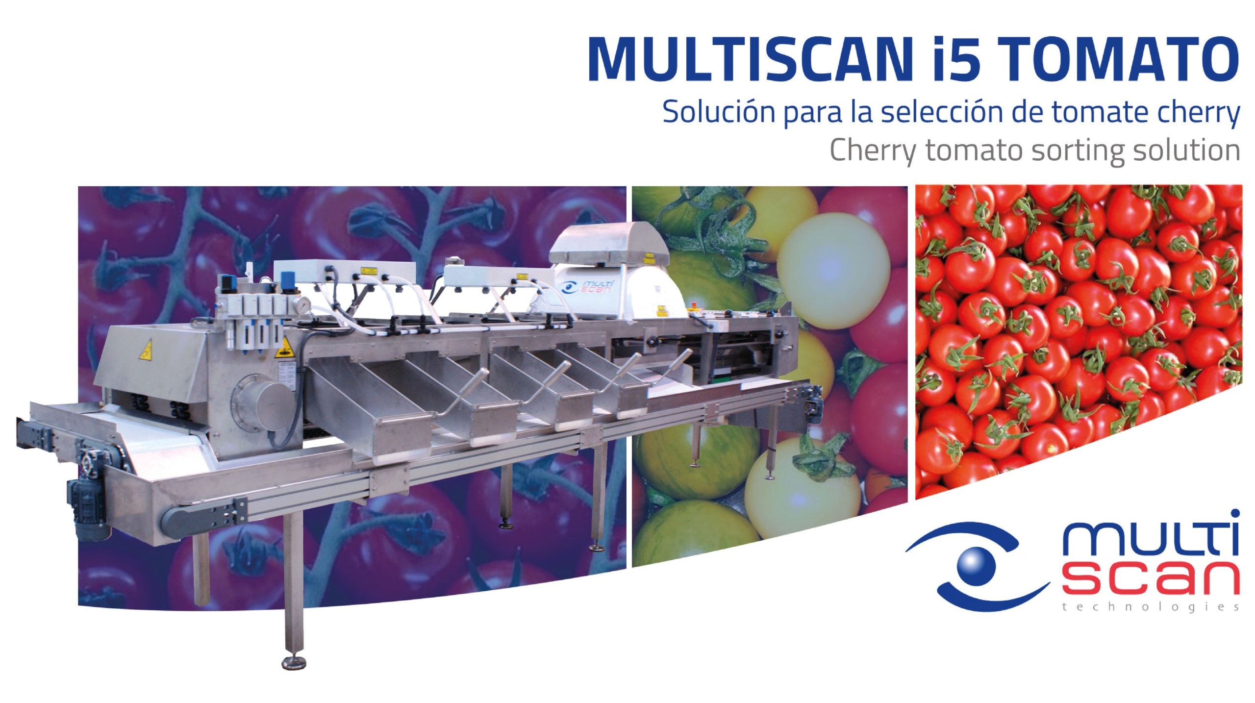 Multiscan i5 Tomato, cherry tomato sorting solution