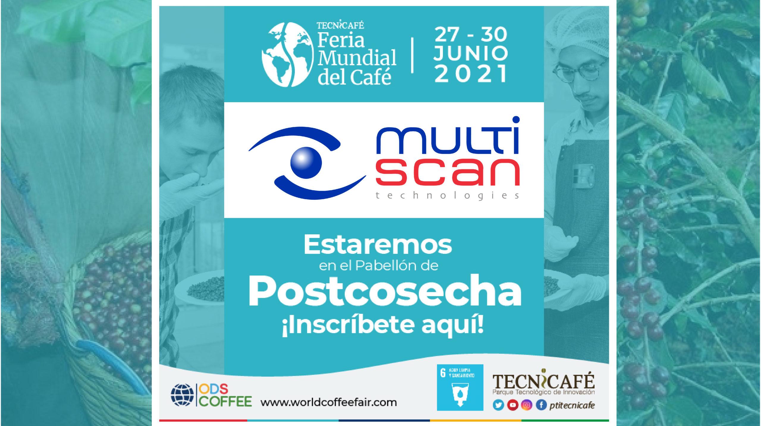 Multiscan, patrocinador oficial del World Coffee Fair